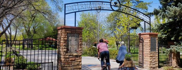 International Peace Gardens is one of Best of Salt Lake City by Bike.
