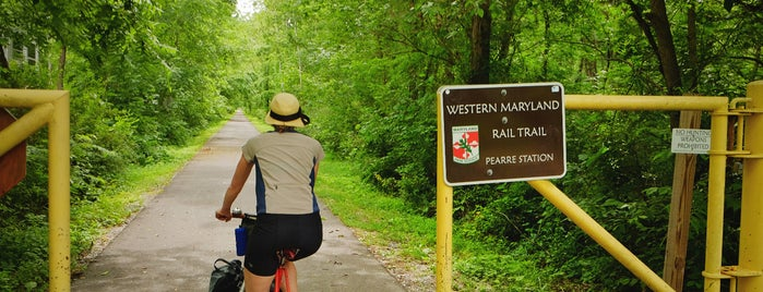 Western Maryland Rail Trail is one of Bikabout's Guide to the GAP Trail and C&O Towpath.