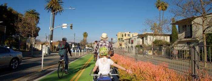 Pico Boulevard Cycletrack is one of Best of Santa Monica by Bike.