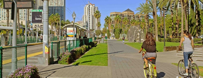Martin Luther King Jr. Promenade is one of Bikabout San Diego.