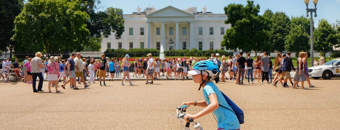 The White House is one of Bikabout Washington.