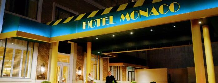 Kimpton Hotel Monaco Salt Lake City is one of Best of Salt Lake City by Bike.