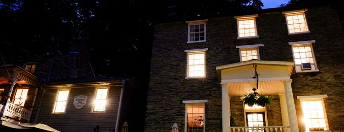 The Town's Inn is one of Bikabout's Guide to the GAP Trail and C&O Towpath.