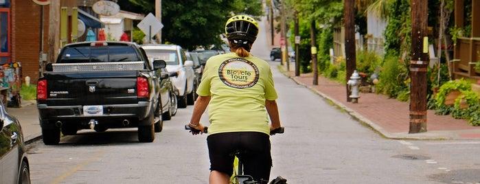 Bicycle Tours of Atlanta is one of Lieux sauvegardés par Lindsay.