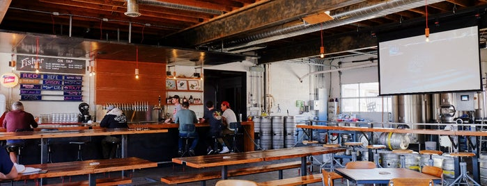 Fisher Brewing is one of Best of Salt Lake City by Bike.