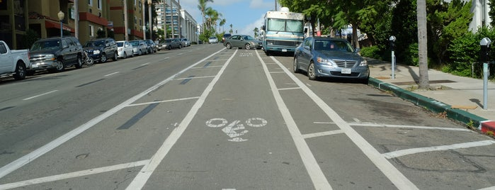 4th Avenue Buffered Bike Lane is one of Bikabout San Diego.