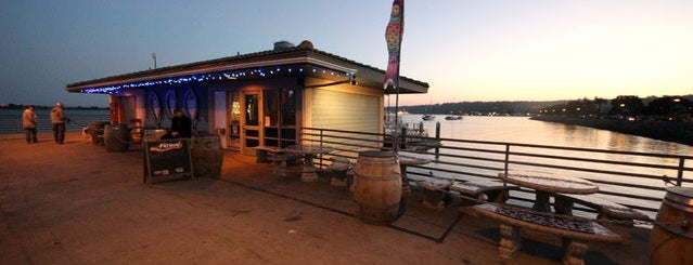 Fathom Bistro, Bait & Tackle is one of Bikabout San Diego.