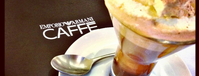 Emporio Armani Caffé is one of Best places in SP.