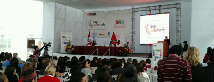 Complejo Javier Perez de Cuellar - Casa de las Naciones Unidas is one of Emilio : понравившиеся места.