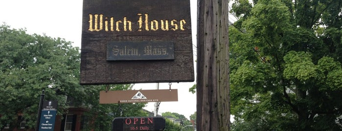 Witch House is one of Salem 🎃.