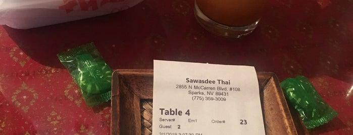 Sawasdee Thai Restaurant is one of Reno Favorites.