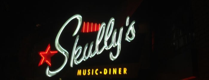 Skully's Music Diner is one of Tempat yang Disukai Christine.