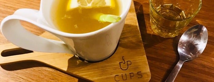 CUPS {Coffee & Kitchen} is one of What happens when food-addict strikes in Bandung.