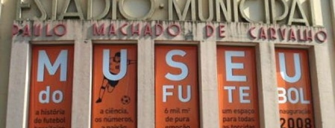 Museu do Futebol is one of SP.