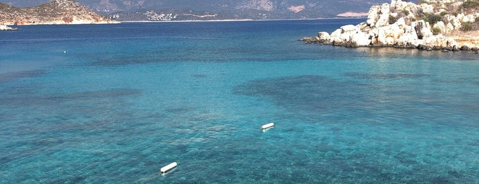 St. George Beach is one of KAŞ&FTHYE.