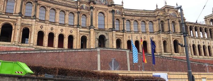 Maximilianeum is one of Europe.