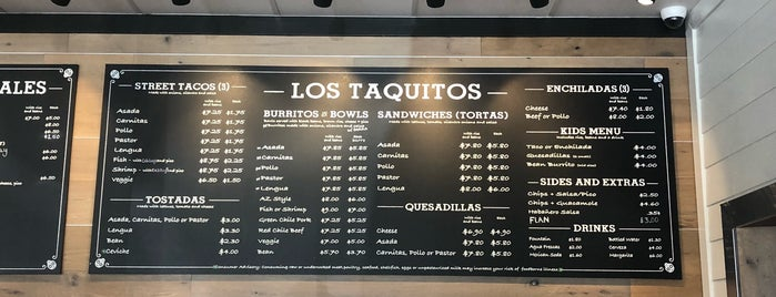 Los Taquitos is one of สถานที่ที่ Andy ถูกใจ.