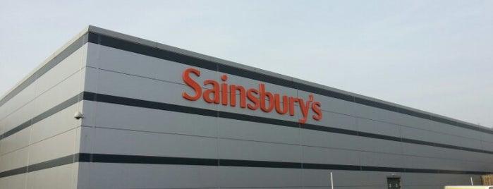 Sainsbury's is one of Locais curtidos por Leonard.