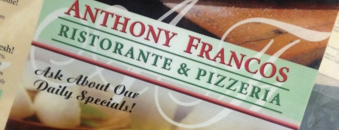 Anthony Franco's Pizza is one of Tempat yang Disimpan Lizzie.