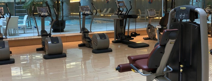 The Gym at Twelve is one of Checklist - Shanghai Venues.