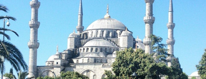 Blaue Moschee is one of Istanbul.