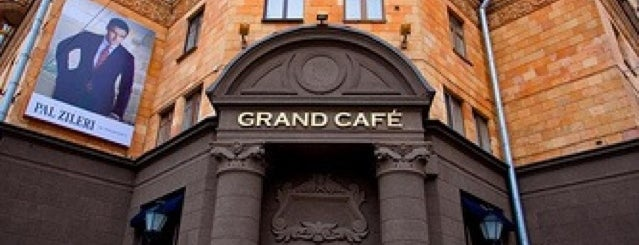 Grand Café is one of Lugares favoritos de Artemy.