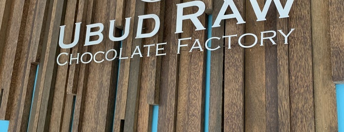 Ubud Raw Chocolate Factory is one of Bali.