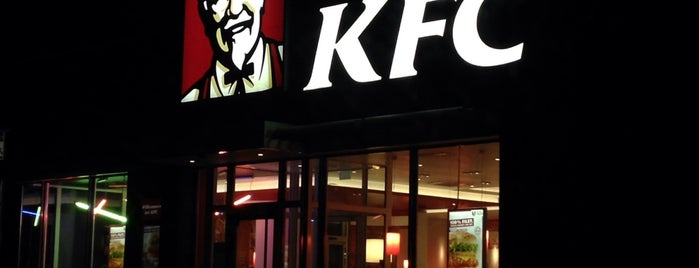 Kentucky Fried Chicken is one of Posti salvati di N..