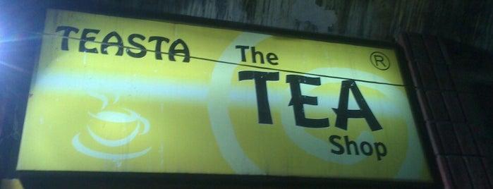 Teasta - The Tea Shop is one of Locais curtidos por Sezel.
