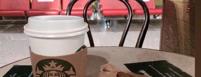 Starbucks is one of Orte, die Mufide gefallen.