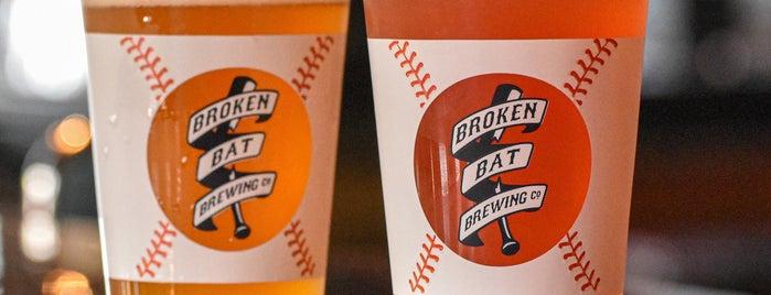 Broken Bat Brewing Company is one of effffn's MKE list.