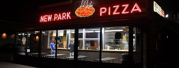 New Park Pizzeria is one of Brooklyn Beta Pizza.