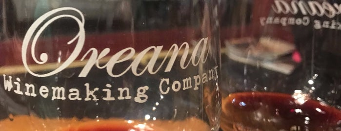 Oreana Winery & Marketplace is one of Lugares favoritos de Jamie.