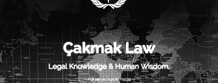Çakmak Law is one of สถานที่ที่ Uğur ถูกใจ.