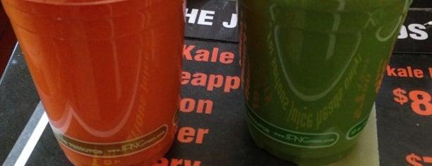Sidewalk Juice is one of Kristen's SF.