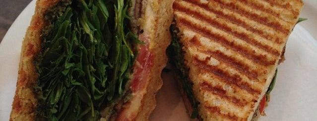 Peacefood Café is one of NYC: Fast Eats & Drinks, Food Shops, Cafés.