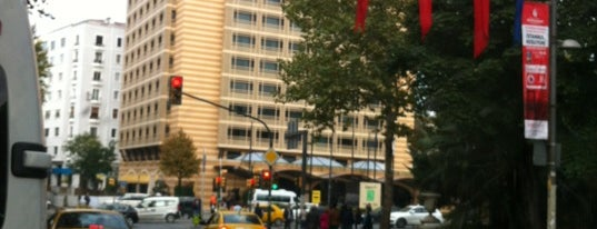Harbiye Caddesi is one of IST.