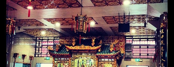 观音堂佛祖庙 Kwan Im Thong Hood Cho Temple is one of Lugares favoritos de Ian.