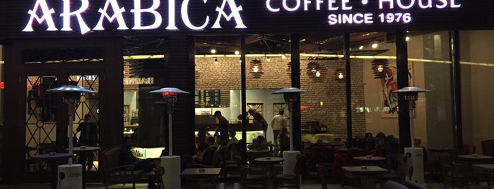 Arabica Coffee House is one of Lugares guardados de Ahmet.