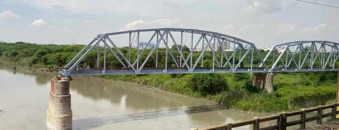 Dashu Old Railway Bridge is one of Kaohsiung.