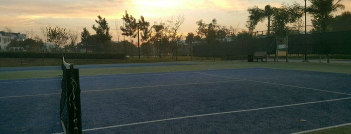 Canchas de Tenis is one of Lugares favoritos de Ele.