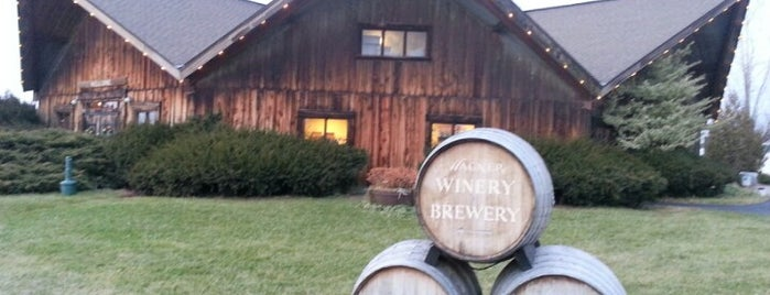 Wagner Valley Brewing Company is one of Seneca Lake.