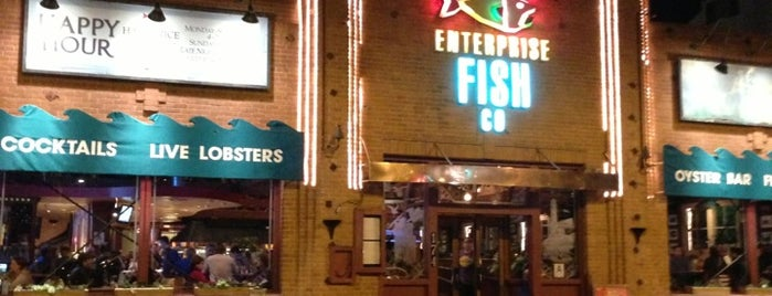 Enterprise Fish Co. is one of David & Dana's LA BAR & EATS!.