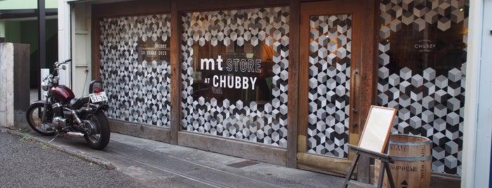 CHUBBY is one of 行きたいとこ.