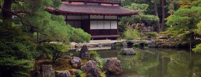慈照寺 (銀閣寺) is one of Kyoto.