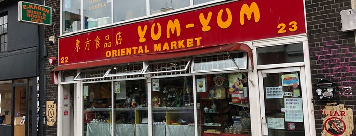 Yum Yum Oriental Market is one of Brighton.