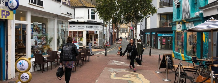 North Laine is one of Brighton.