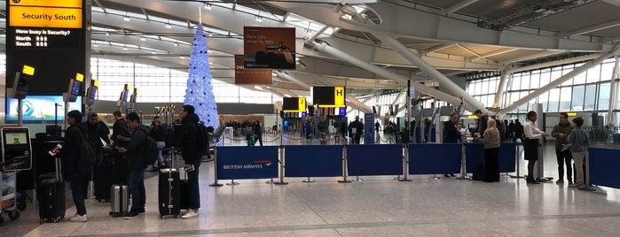 British Airways Check-in is one of Locais salvos de Matt.