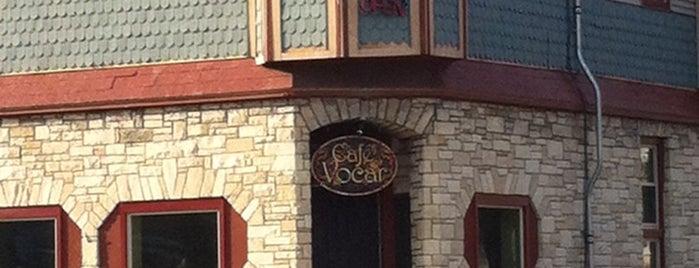 cafe vocar is one of Lieux sauvegardés par Sarah.