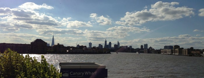 Canary Riverside is one of Greenwich and Docklands; London.